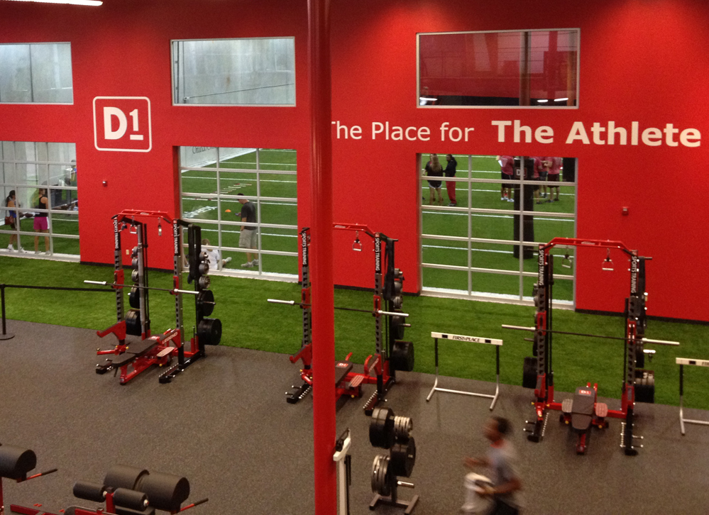 D1 Sports Rubber Fitness Flooring