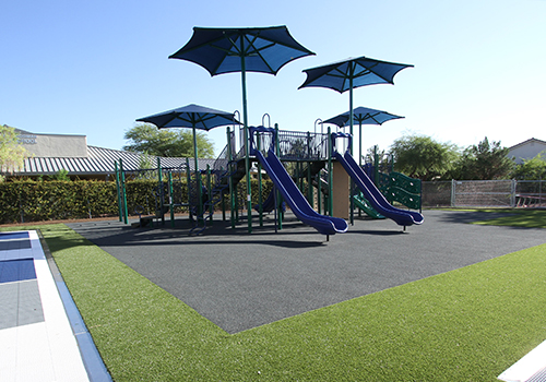 Rubber Playground Surfacing Options