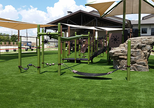 Synthetic Grass Playground Turf
